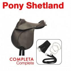 Silla Sintética Pony Shetland Completa