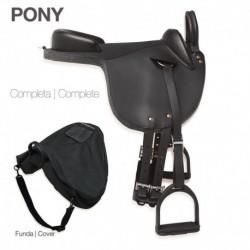 Silla Inglesa Pony y Caballo Miniatura Completa