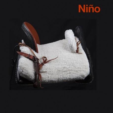 """Silla Vaquera Mixta Niño 13"""" (32cm) Completa"""