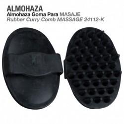 Almohaza goma para masaje
