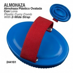 Almohaza plástico ovalada con lona
