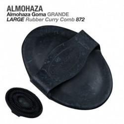 Almohaza goma grande negro