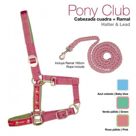 Cabezada cuadra + ramal Pony Club
