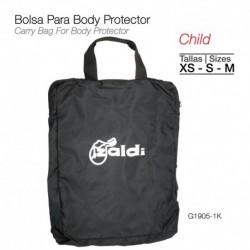 Bolsa para body protector niño