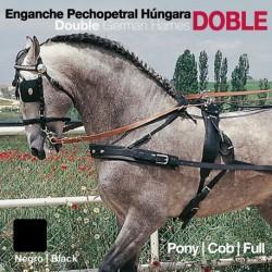 Enganche pechopetral a la Húngara doble