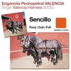 Enganche pechopetral Valencia sencillo
