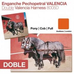 Enganche pechopetral Valencia doble
