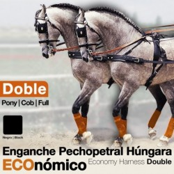 Enganche pechopetral a la Húngara doble económico