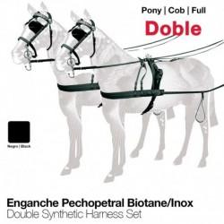 Enganche doble pechopetral biotane/inox
