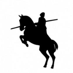 Pegatina caballos 2