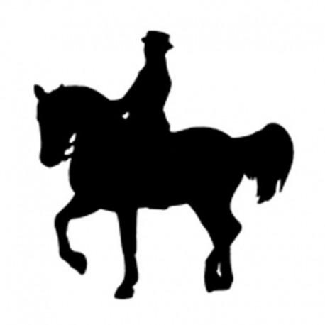 Pegatina caballos 16