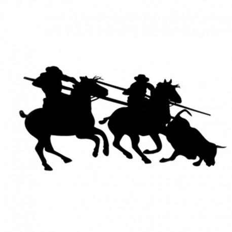 Pegatina caballos 20