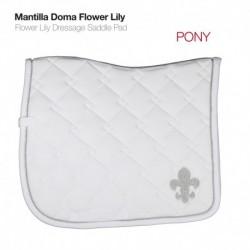 Mantilla Doma Flower Lily pony y caballo