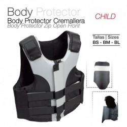 Body protector con cremallera niño
