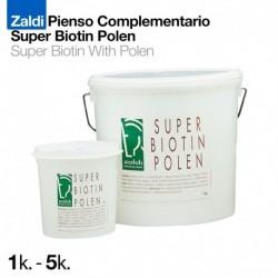 Zaldi pienso complementario super biotin polen