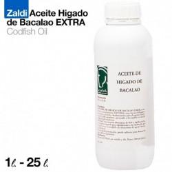 Zaldi aceite higado de bacalao extra