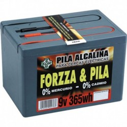 Pila Forzza alcalina 9V