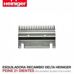 Peine 21 dientes Esquiladora Delta Heiniger