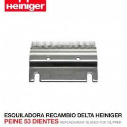 Set peine y cuchilla Esquiladora Delta Heiniger peine 53 dientes