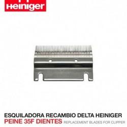 Peine 35F dientes Esquiladora Delta Heiniger