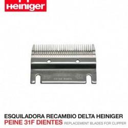 Peine 31F dientes Esquiladora Delta Heiniger