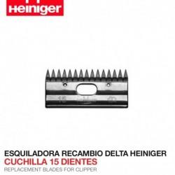Cuchilla 15 dientes Esquiladora Delta Heiniger