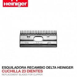 Cuchilla 23 dientes Esquiladora Delta Heiniger