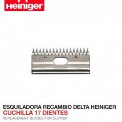 Cuchilla 17 dientes Esquiladora Delta Heiniger