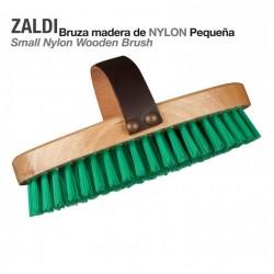 Bruza madera nylon pequeña