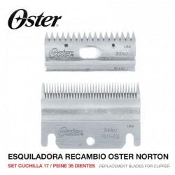 Set peine y cuchilla Esquiladora Oster