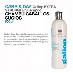 Carr & Day champú caballos sucios