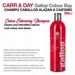 Carr & Day champú caballos alazán y castaño