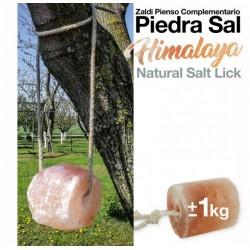 Zaldi piedra sal del Himalaya