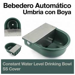 Bebedero automático Umbria nivel constante cubierta inox