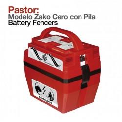 Pastor eléctrico Zako cero con pila