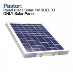 Panel Solar 7W para pastor eléctrico