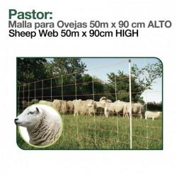 Malla electrificada para ovejas