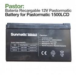 Batería recargable Pastormatic 1500LCD