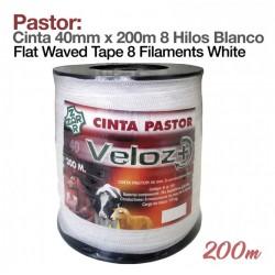 Bobina cinta blanca 40 mm