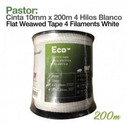 Cinta Premium 10 mm para pastor eléctrico o cerca eléctrica