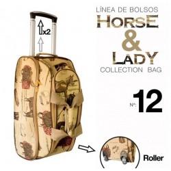 Maleta colecciòn Horse&Lady 12 motivo caballos