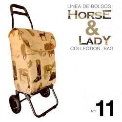Trolley colección Horse&Lady 11motivo caballos