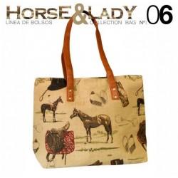 Bolso para colgar colección Horse&Lady 6 motivo caballos