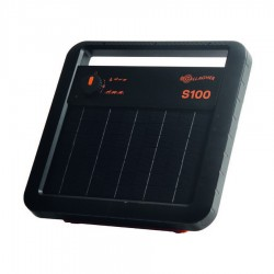 Energizador solar S100 con batería