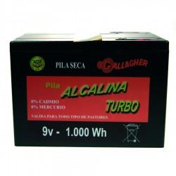 Pila alcalina 120Ah 1000Wh 9V